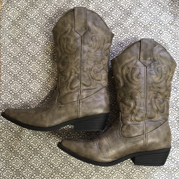 Target Womens Cowboy Boots Size